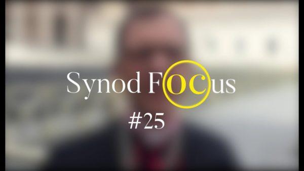Prions pour tous ceux qui se sentent hors cadre – Synod Focus #25