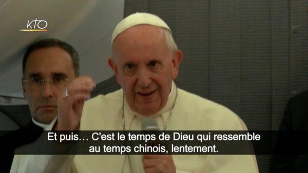 Accord Chine-Vatican : le pape François s'explique