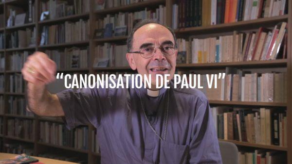 Canonisation de Paul VI – Cardinal Philippe Barbarin