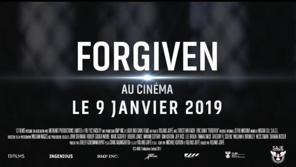 Forgiven, bande-annonce VF (Au cinéma le 9 janvier 2019)