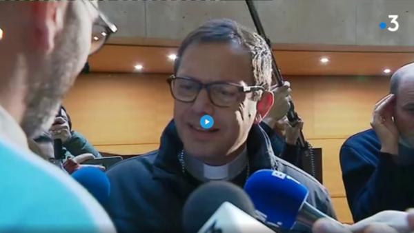 Procès Barbarin : Mgr Gobillard remercie «La parole libérée» d'avoir «secoué» l'Eglise