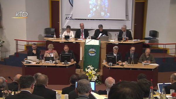 Promesse d'Eglise et Synodalité – Séance de travail des évêques de France à Lourdes