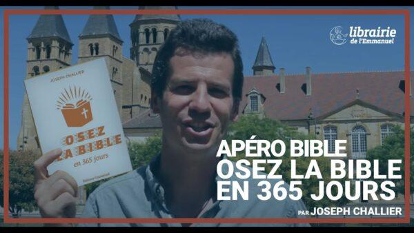 ApéroBible : (re)Découvrir la Bible avec Joseph Challier et la Librairie de l'Emmanuel